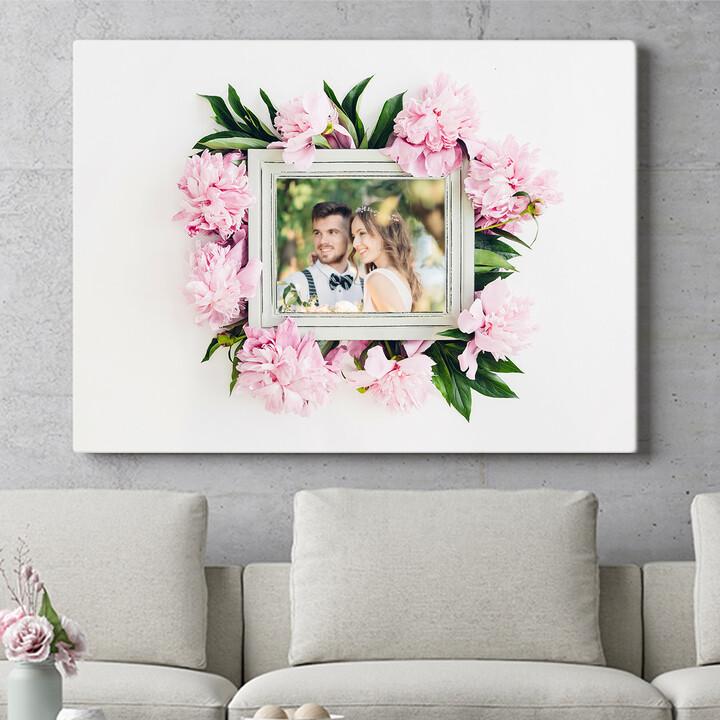 Regalo personalizzato Sfondo: decorazioni floreali