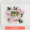 Tele personalizzate Sfondo: decorazioni floreali