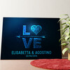 Tela personalizzata Amore al quadrato