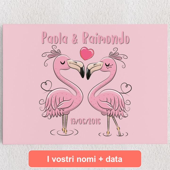 Tele personalizzate Flamingorama