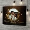Stampa personalizzata su tela Specchio d'amore
