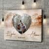 Stampa personalizzata su tela L'amore come un sogno