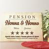 Tela personalizzata Pensione Nonna & Nonno