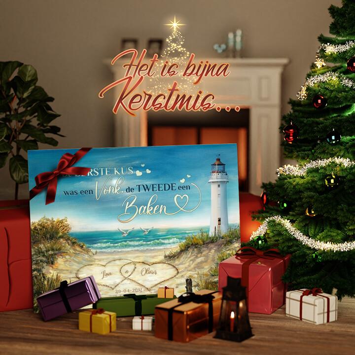 Canvas Cadeau Baken van liefde