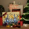 Canvas Cadeau Ezelfamilie