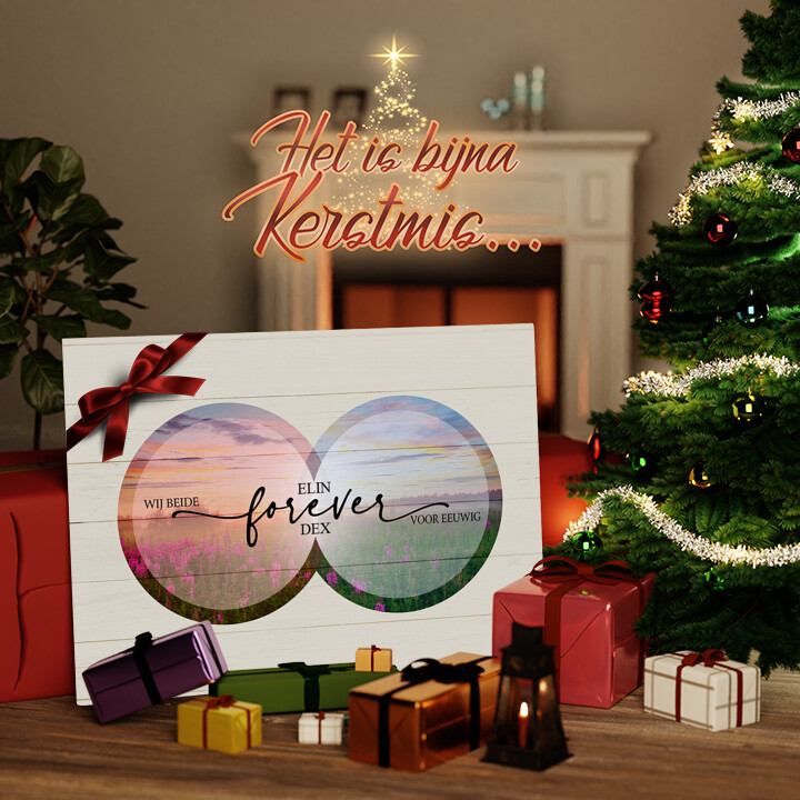 Canvas Cadeau Eeuwigheid