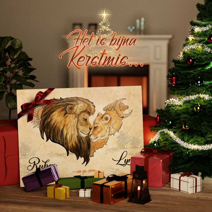 Canvas Cadeau Diep vertrouwen