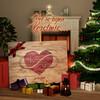 Canvas Cadeau In het hart gegraveerd