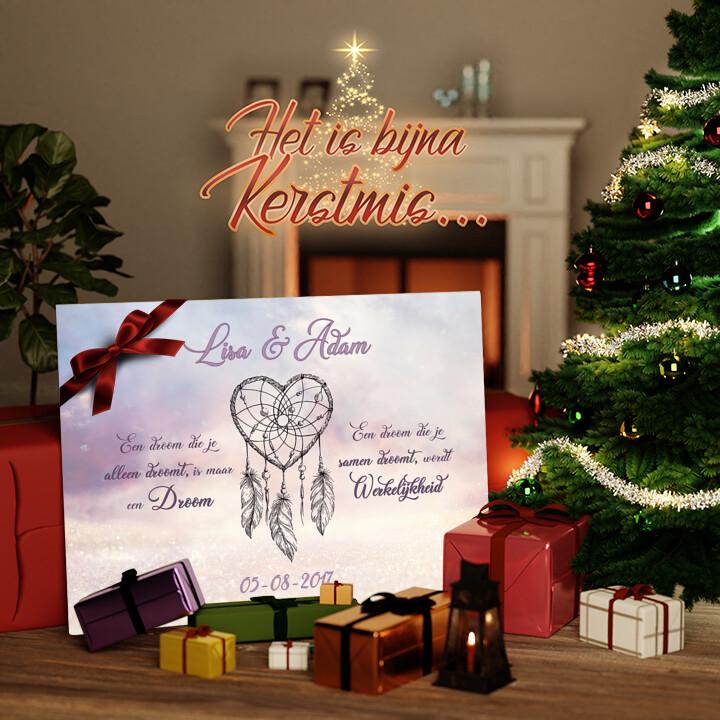 Canvas Cadeau Dromerige Liefde