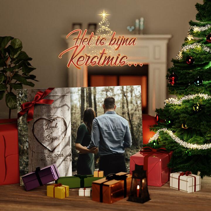 Canvas Cadeau Hartenboom