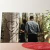 Gepersonaliseerde muurschildering Hartenboom