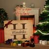 Canvas Cadeau Initialen van de Familie