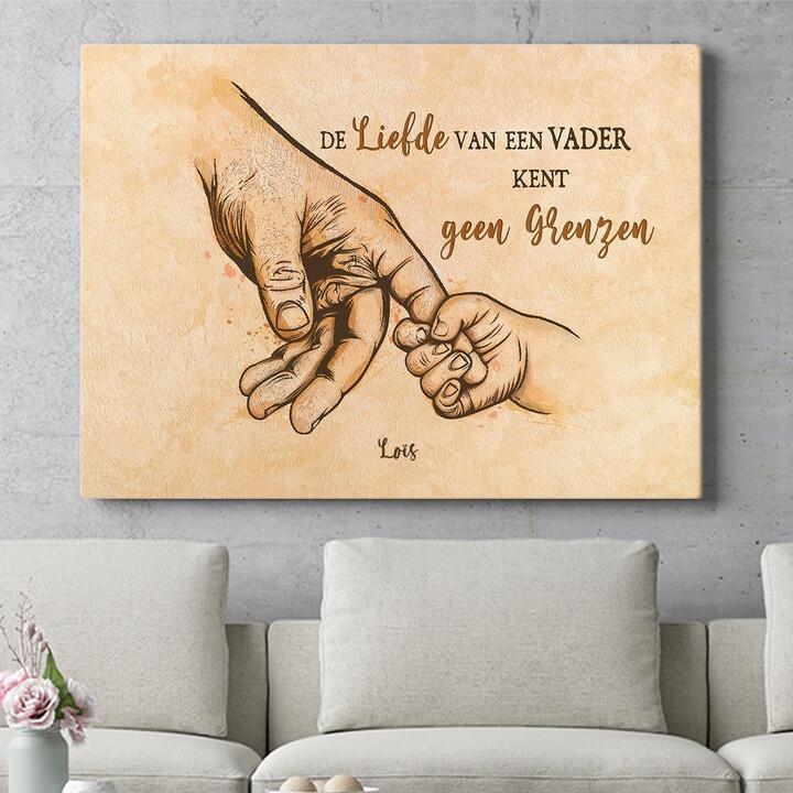 Personaliseerbaar cadeau Liefde van een vader