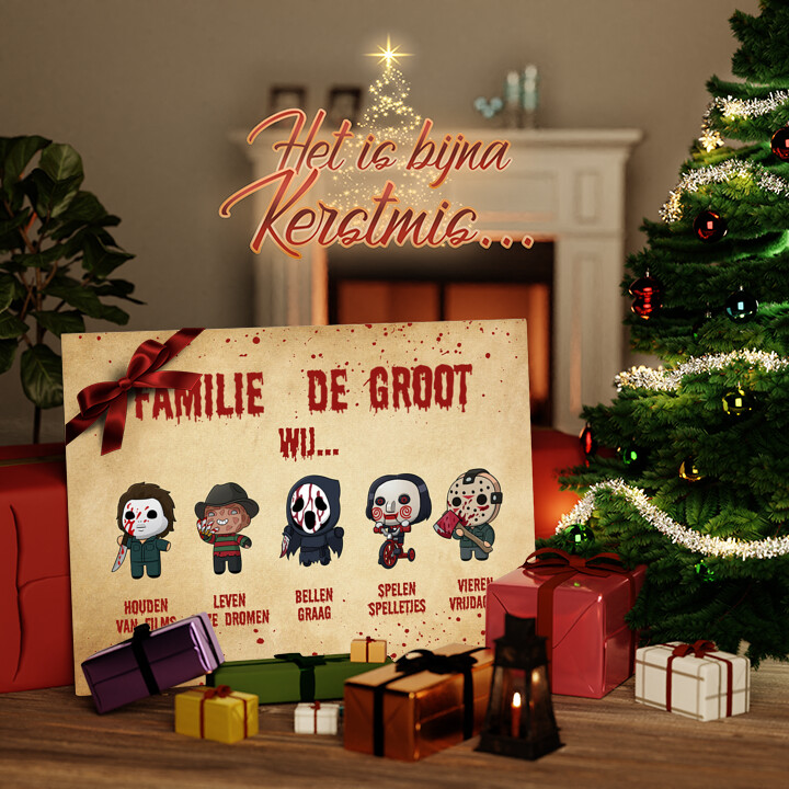 Canvas Cadeau Familiegevoel