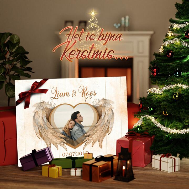Canvas Cadeau Vleugels van liefde