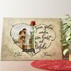 Gepersonaliseerde muurschildering Hart Vol Liefde