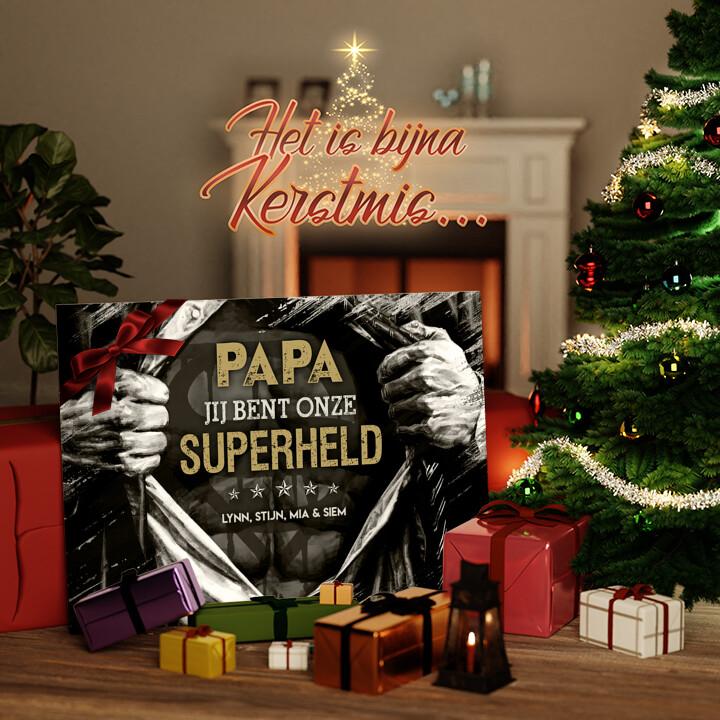 Canvas Cadeau Superheld