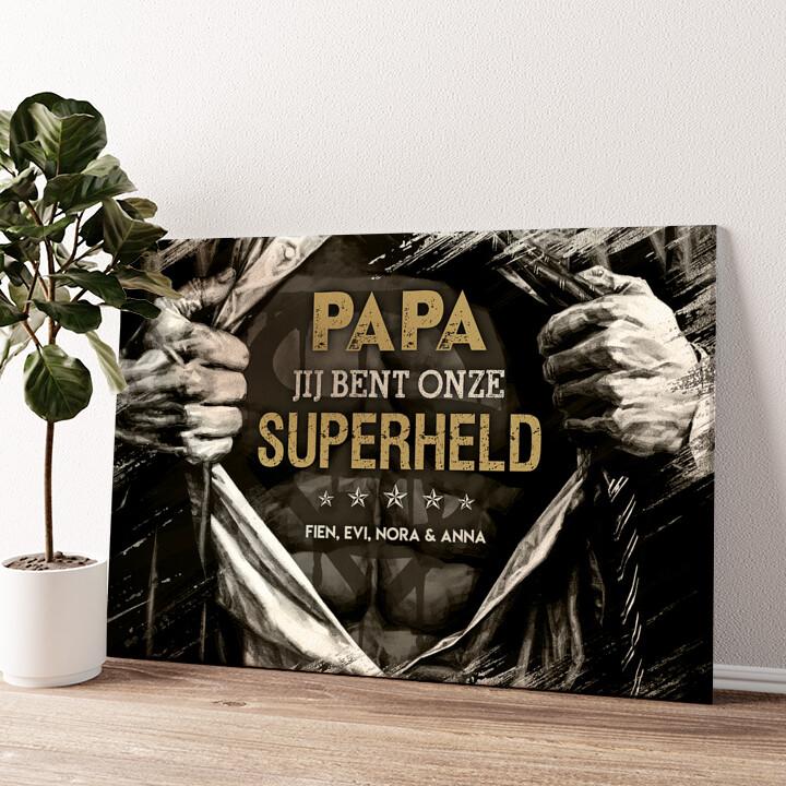 Superheld Gepersonaliseerde muurschildering