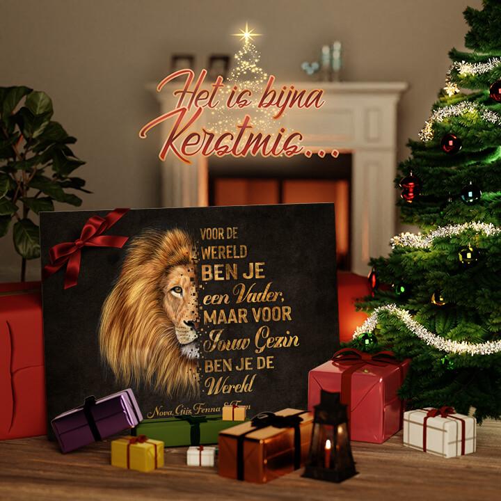 Canvas Cadeau Beschermer van het gezin