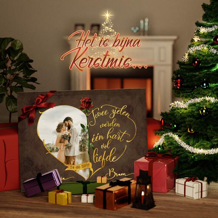 Canvas Cadeau Onafscheidelijke Liefde
