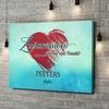 Gepersonaliseerde canvas print Familie hart