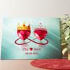 Gepersonaliseerde muurschildering Koninklijke Liefde