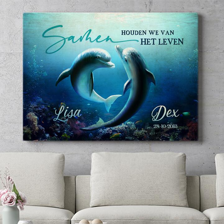 Personaliseerbaar cadeau Oceaan van liefde