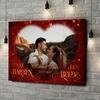 Gepersonaliseerde canvas print Onze grote Liefde