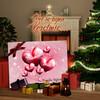 Canvas Cadeau Gezin met een hart