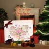 Canvas Cadeau Romantisch hart