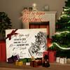 Canvas Cadeau Tijgerliefde