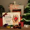 Canvas Cadeau Elke seconde van het leven