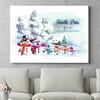 Personaliseerbaar cadeau Sneeuwpop familie