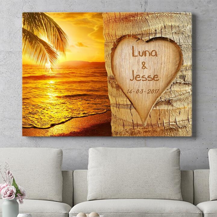 Personaliseerbaar cadeau Eeuwige Liefde