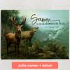 Gepersonaliseerde Canvas Verliefde Herten