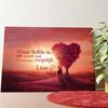Gepersonaliseerde muurschildering Liefdesboom