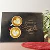 Gepersonaliseerde muurschildering Koffie