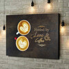 Gepersonaliseerde canvas print Koffie