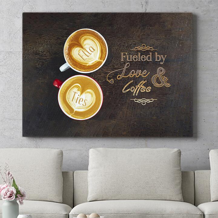 Personaliseerbaar cadeau Koffie