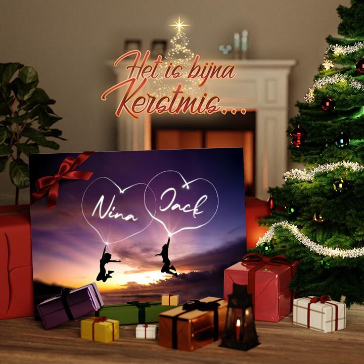 Canvas Cadeau Geluk
