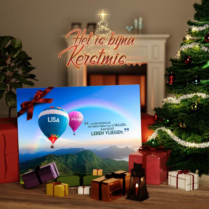 Canvas Cadeau Ballonnen