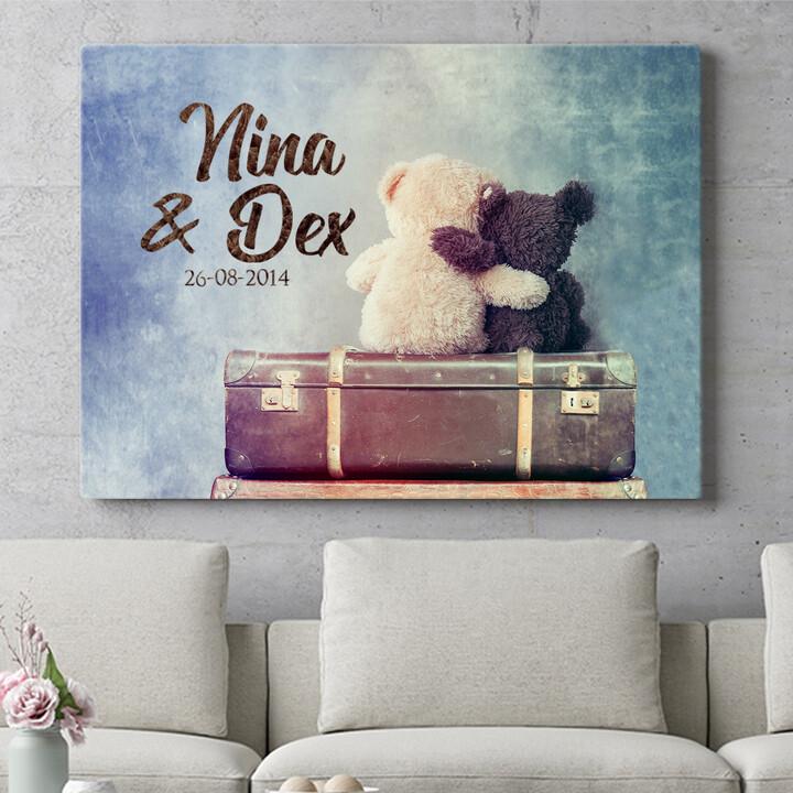 Personaliseerbaar cadeau Teddyberen