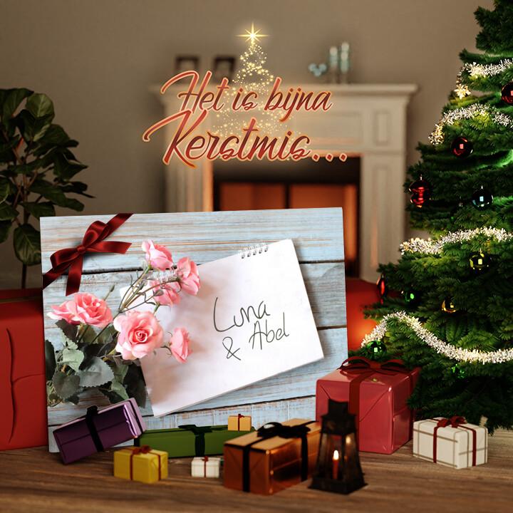 Canvas Cadeau Liefdebrief