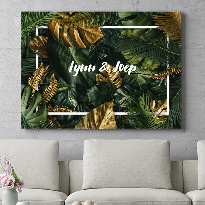 Personaliseerbaar cadeau Jungle