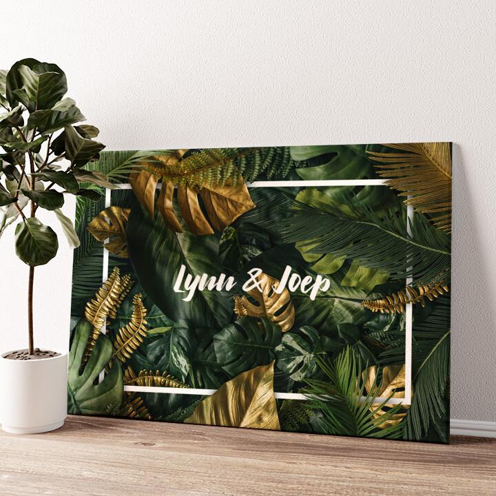 Jungle Gepersonaliseerde muurschildering