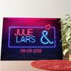 Gepersonaliseerde muurschildering Neon Liefde