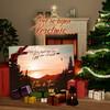 Canvas Cadeau Zonsondergang