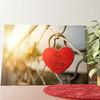 Gepersonaliseerde muurschildering Geborgen Liefde