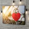 Gepersonaliseerde canvas print Geborgen Liefde