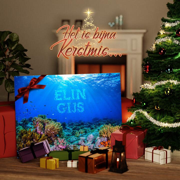 Canvas Cadeau Onder de zee